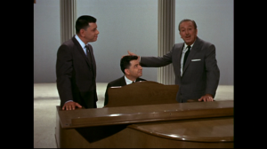 The Sherman Brothers singing a few songs on an episode of the Walt Disney anthology