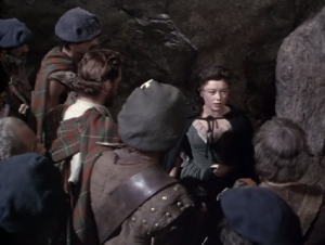 Helen, angered at the men's stubborn actions, informs them that she no longer honors them
