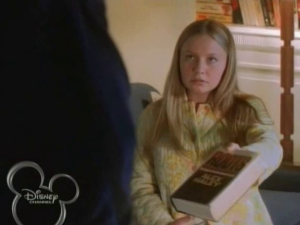 Mahree shows Ron what she's been reading, and he starts explaining the book's significance to her