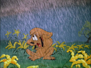 Just as things couldn't get worse for Pluto, it begins to rain heavily