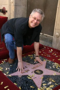 at the Alan Menken Hollywood Walk of Fame Star Ceremony, El Capitan Theater, Hollywood, CA. 11-10-10