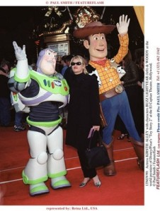 Kirstie Alley at the premiere of Toy Story 2