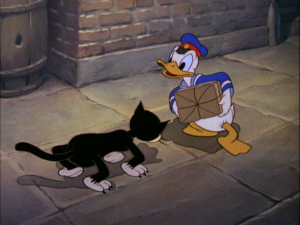 Donald finds himself facing several bad omens on Friday the 13th, including a black cat crossing his path