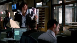 Beckett starts giving assignments to her team, making them well versed in Castle's work