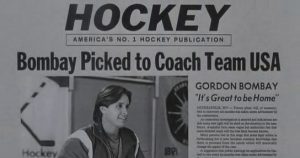 After Bombay is named coach of Team USA, Tibbles and Hendrix Hockey set out to make him a household name