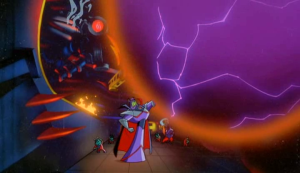Zurg is able to turn the Uni-Mind into a force for evil, and starts enslaving planets