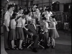 Walt is kidnapped by the Mouseketeers and given a surprise anniversary party