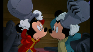 Mickey and the Prince have their first meeting, and are surprised at their similarities