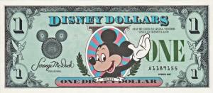 1987 Disney Dollar