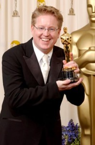 "Andrew Stanton, winner for Best Animated Feature for ""Finding Nemo"" The 76th Annual Academy Awards - Deadline Photo Room The Kodak Theater Hollywood, California United States February 29, 2004 Photo by Jeff Vespa/WireImage.com To license this image (2318862), contact WireImage: +1 212-686-8900 (tel) +1 212-686-8901 (fax) st@wireimage.com (e-mail) www.wireimage.com (web site)"