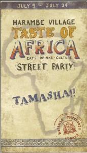 Taste Of Africa Street Party